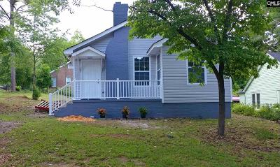 Single Family Home For Sale: 1007 Columbia College