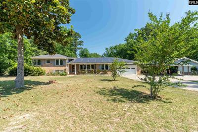 West Columbia Single Family Home For Sale: 2210 Hooklawn