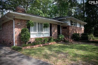 Columbia Single Family Home For Sale: 1314 Brentwood