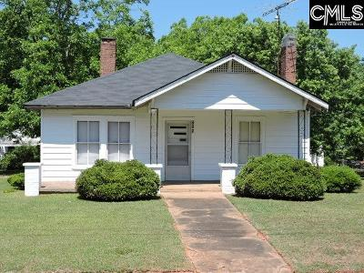 Newberry Single Family Home For Sale: 705 Wardlaw