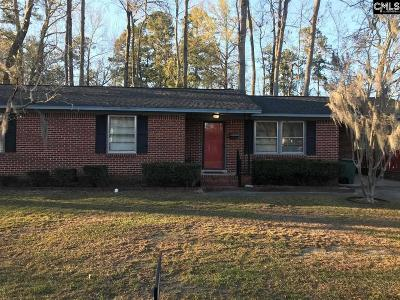Orangeburg Single Family Home For Sale: 813 Adden