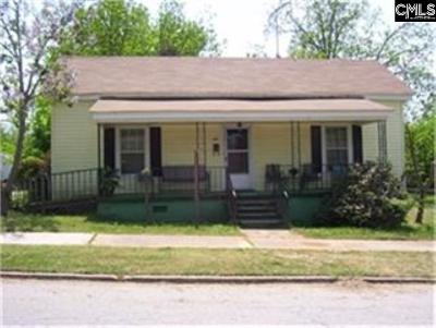 Newberry County Single Family Home For Sale: 12 Central
