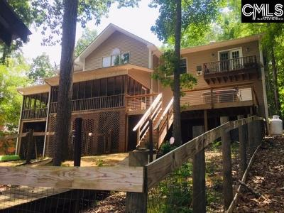 Wateree Hills, Lake Wateree, wateree keys, wateree estate, lake wateree - the woods Single Family Home For Sale: 1742 Atoka