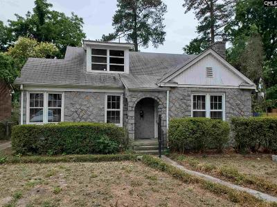 Cayce Single Family Home For Sale: 709 Michaelmas