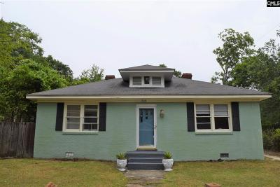 Columbia SC Single Family Home For Sale: $64,000