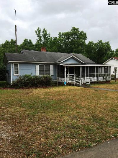 Monetta, Ridge Spring, Wagener, Johnston, Pelion, Newberry, Ward Single Family Home For Sale: 1091 Calhoun