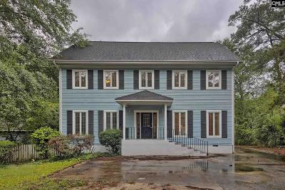 Lexington County, Newberry County, Richland County, Saluda County Single Family Home For Sale: 6711 N Trenholm