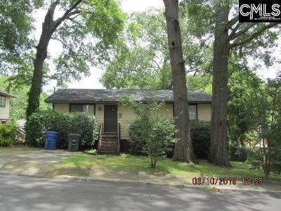 Columbia Single Family Home For Sale: 1012 Benton