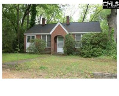 Newberry Single Family Home For Sale: 1217 Glenn