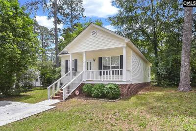 Columbia SC Single Family Home For Sale: $140,000