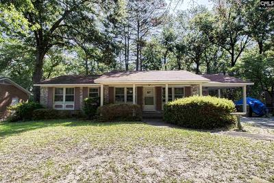 Cayce Single Family Home For Sale: 2508 Windsor
