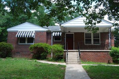 Columbia Single Family Home For Sale: 3510 Hazelhurst