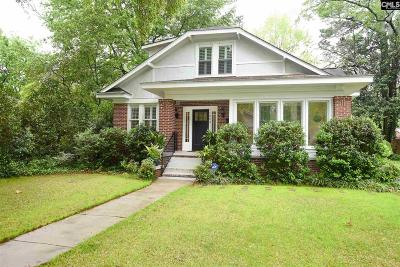 Columbia Single Family Home For Sale: 1223 Princeton