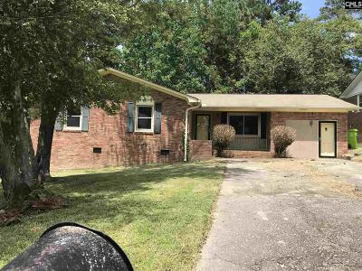 Columbia SC Single Family Home For Sale: $75,000