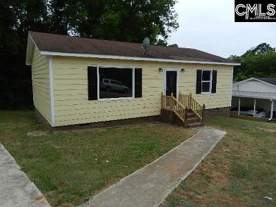 Newberry County Single Family Home For Sale: 91 Player