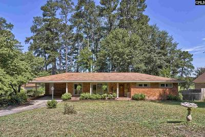 Calhoun County, Fairfield County, Kershaw County, Lexington County, Richland County Single Family Home For Sale: 7819 Nell