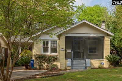 Forest Acres, Shandon Single Family Home Contingent Sale-Closing: 3317 Cannon