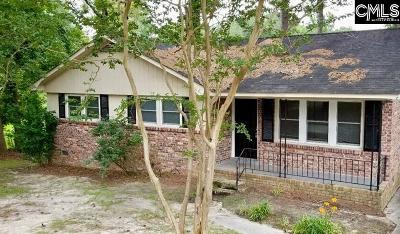 Columbia SC Single Family Home For Sale: $94,000