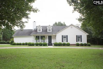 Newberry County Single Family Home For Sale: 61 Golfview