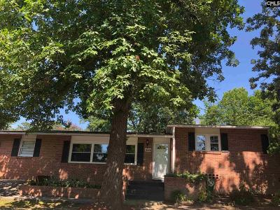 Columbia Single Family Home For Sale: 1628 Overhill