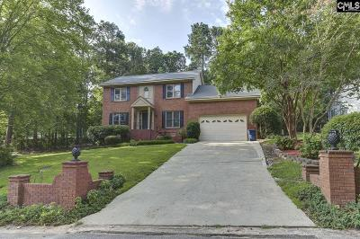 West Columbia Single Family Home For Sale: 2324 Quail Hollow