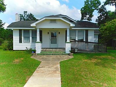 Batesburg Single Family Home For Sale: 290 Bates