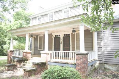 Newberry County Single Family Home For Sale: 4606 Mount Pleasant