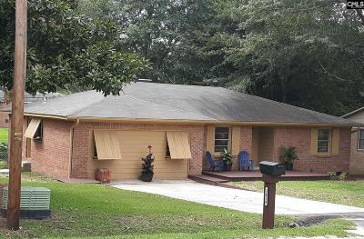 Single Family Home For Sale: 3416 Mineral Springs
