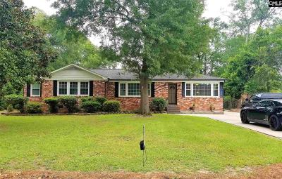 West Columbia Single Family Home For Sale: 1609 Gambrell