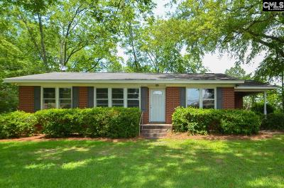 Batesburg, Leesville Single Family Home For Sale: 411 Liberty