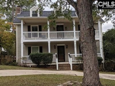 Cayce Single Family Home For Sale: 110 Sweetgum