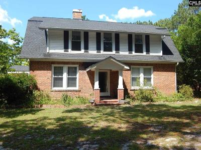 Camden Single Family Home For Sale: 731 Kershaw