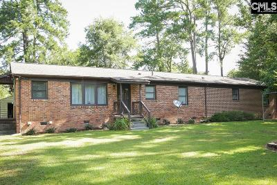 Newberry County Single Family Home For Sale: 164 Eureka