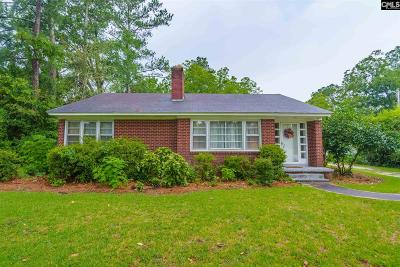 Newberry County Single Family Home For Sale: 409 N Main
