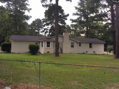 Columbia SC Single Family Home For Sale: $159,950