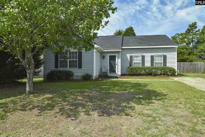 West Columbia Single Family Home For Sale: 221 Pebble Creek Dr