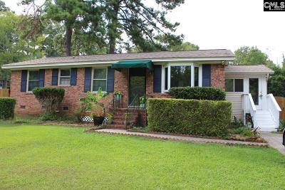 Columbia SC Single Family Home For Sale: $109,500