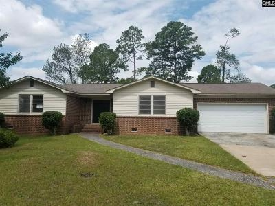 Columbia SC Single Family Home For Sale: $92,000