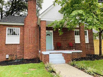 Columbia Single Family Home For Sale: 1101 W Confederate