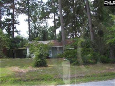 Newberry County Single Family Home For Sale: 1416 Trent