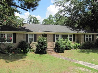 Columbia SC Single Family Home For Sale: $67,500