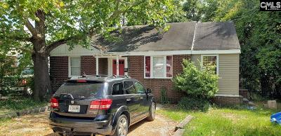 Columbia SC Single Family Home For Sale: $98,000