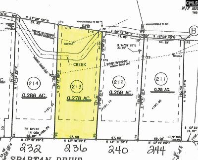 Lexington County, Richland County Residential Lots & Land For Sale: 236 Spartan