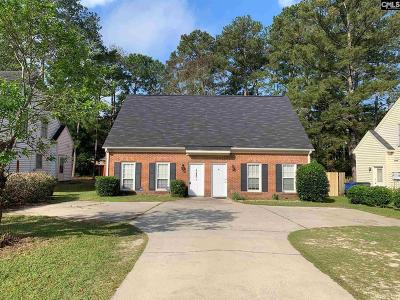 Lexington County, Richland County Townhouse For Sale: 1607 Willowby #A