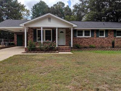 Columbia SC Single Family Home For Sale: $128,900