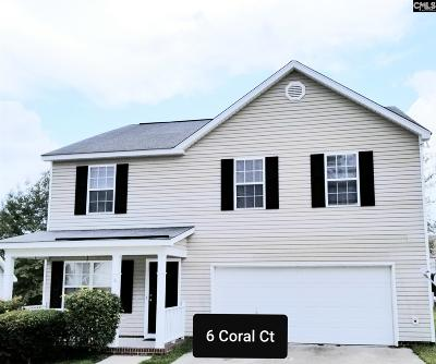 Richland County Single Family Home For Sale: 6 Coral