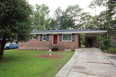 Columbia Single Family Home For Sale: 1645 Bywood