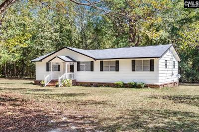 Calhoun County, Fairfield County, Kershaw County, Lexington County, Richland County Single Family Home For Sale: 216 Smith Myers