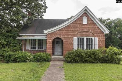 Monetta, Ridge Spring, Wagener, Johnston, Pelion, Newberry, Ward Single Family Home For Sale: 823 Glenn