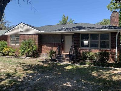 West Columbia Single Family Home For Sale: 1210 Michaelmas